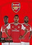 Arsenal FC 2020 Calendar - Official A3 Month to View Wall Calendar