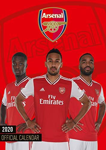 Arsenal FC 2020 Calendar - Official A3 Wall Format Calendar