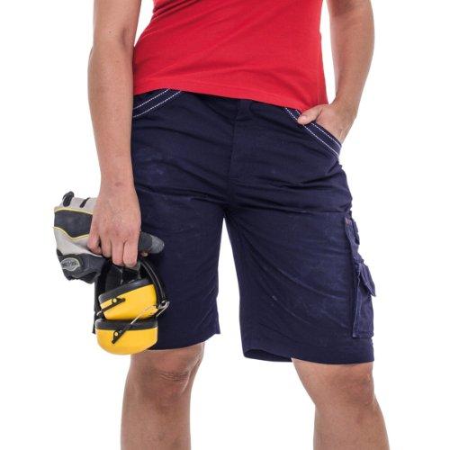 Herock - Pantaloncini da Lavoro Multi-Tasche - Uomo Blu reale