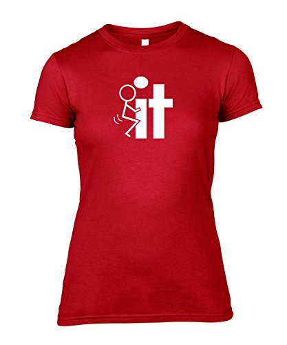 Art Hustle Damen T-Shirt * Rot