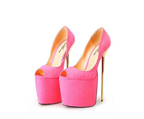 HeiSiMei Heisimei/A-8/22 cm/métal/Super/40-50 code/poissons/femme/chaussures PINK-EU49