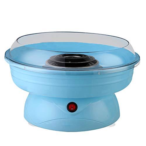 MIAO@LONG Machen Maschine für Zuckerwatte für Kinder Party Bonbon Wolken Machen Cotton Candy Party, 400W Blau