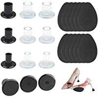 KAKOO Absatzschoner High Heels Protectors 6 Paar S/M/L Stöckelstulpen mit 6 Paar Abschutzpad Absatzschoner Tanzschuhe... preisvergleich bei billige-tabletten.eu