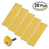 UEETEK 20pcs Chaleur bloc Coton pour imprimante 3D Hotend Buse Heat Isolation 3mm