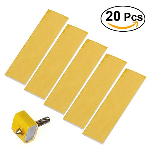 UEETEK 20pcs Heizblock Baumwolle für 3D Drucker Hotend Düse Wärmedämmung 3mm