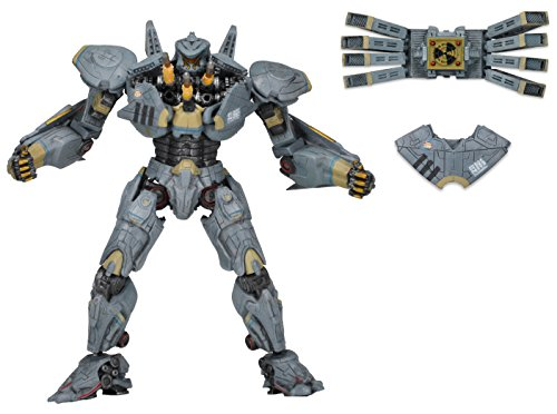 Neca NECA31997 - Pacific Rim The Essential Jaeger - Ultimate Striker Eureka Action Figur 18 cm in Deluxe Window Box Packaging Rim-box