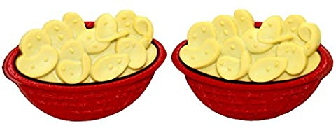 Bluebubble AMERICAN DINER Chips To Dip Stud Earrings With FREE Gift Box