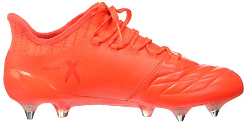 adidas X 16.1 Fg Leather S81973, Entraînement de football homme Multicolore - Multicolore (Solred/Silvmt/Hirere)
