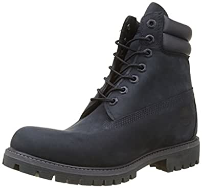 Timberland Men's 6 in Double Collar Waterproof Boot, Blue (Dark Sapphire), 6.5 UK