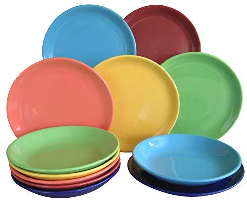Creatable, 14012, Serie Top colours, Geschirrset Tafelservice 12 teilig