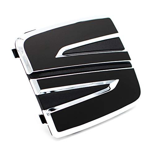 043 Emblem Set vorne + hinten inkl. Schriftzugset - Finest Folia (.Schwarz Matt)
