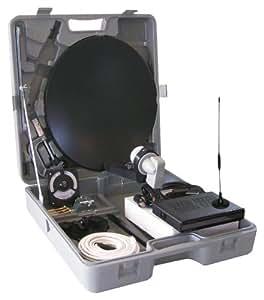 Vistron kit satellite pour camping r cepteur parabole 35 for Cable passe fenetre pour parabole satellite