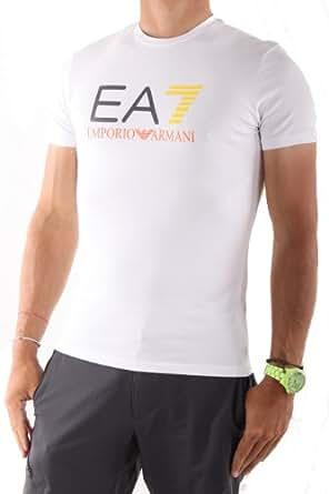 Tee Shirt Emporio Armani 3P206 (XL, BLANC)