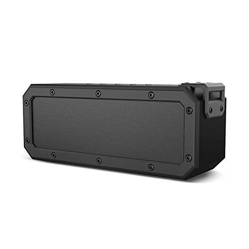 r Bluetooth-Lautsprecher, Drahtloser Bluetooth 4.2-Lautsprecher, 40 W Stereo, IPX7-Wasserdicht, 15-Stündige Wiedergabe, Geeignet Für Zuhause Und Für Den Außenbereich (Schwarz) ()