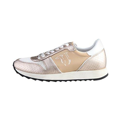 Scarpe Sneakers da passeggioDonna Trussardi Mod. 79S045 Col. Bronzo. Multicolor