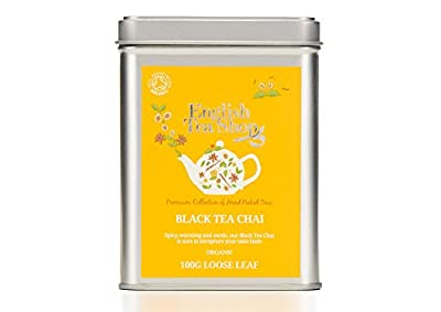 English Tea Shop Thé Noir Chai Bio Vrac 100 g