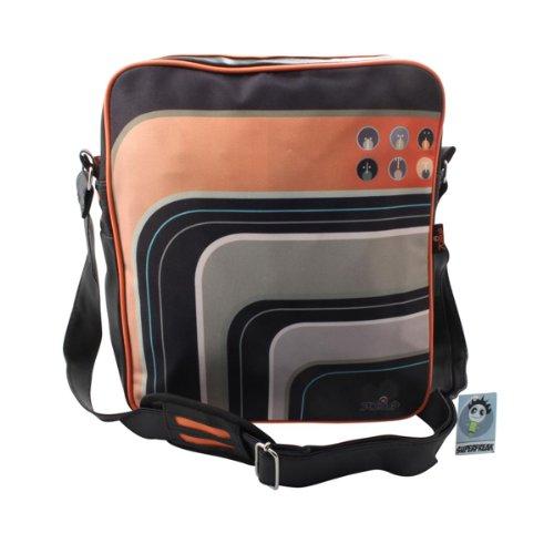 """Superfreak® Tasche 70s Up Umhängetasche """"S-7002"""" , alle Muster!!! Orange & Grey"""