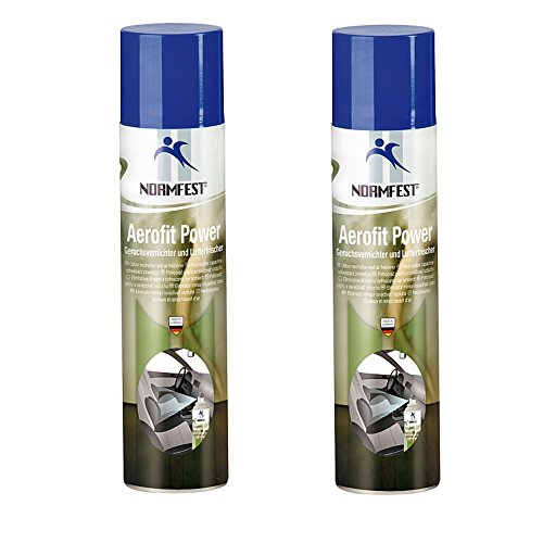 Normfest Geruchsvernichter Aerofit Power Geruchsentferner Spray 400ml (2 Dosen)