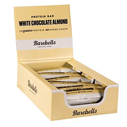 Preisvergleich Produktbild Barebells Barbells Protein Bars 55g x 12 Box - White Chocolate Almond