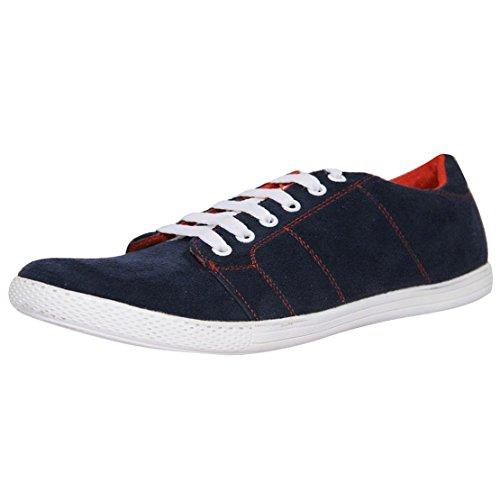 Marco Ferro Men's Navy Synthetic Casual Shoes (1477 Navy ) UK 8