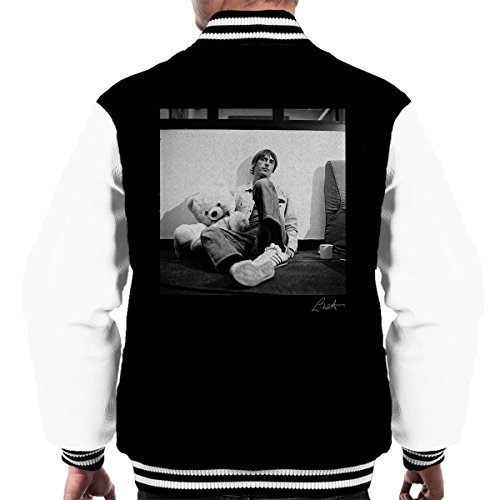 Lawrence Watson Official Photography - Paul Weller With Teddybear Men's Varsity Jacket
