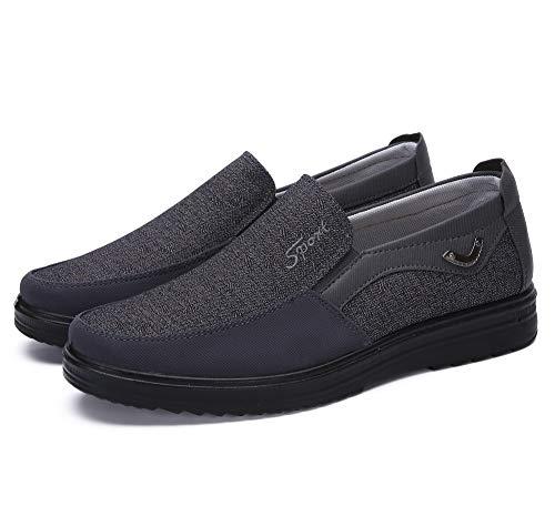 Zapatos Hombre Cuero Mocasines Casual Zapatillas Casa