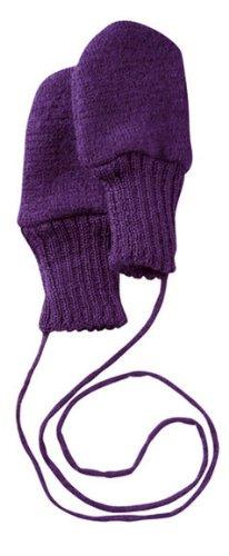 Disana Walk-Handschuhe Schurwolle kbT ((01) 5-12 Monate, Pflaume)