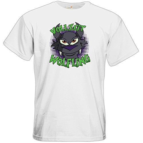 getshirts - Der Wolflings-Shop - T-Shirt - Vollzeit Wolfling White