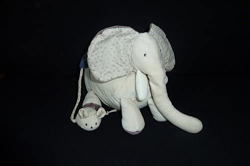 Moulin Roty DOUDOU ELEPHANT AIME ET CELESTE ACTIVITES D'EVEIL MUSICAL 1790065 42 | Outlet Store Online