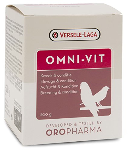 Versele Laga oropharam-Omni-Vit Integratore Alimentare per Uccello 200g