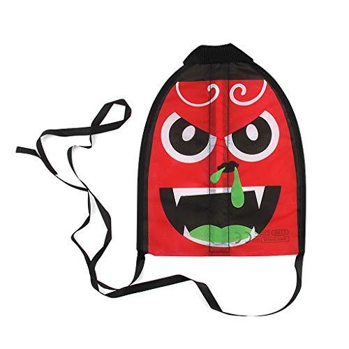 ZJL220 Finger Katapult Kite Schießen Mini Lustige Emoji Flyer Cartoon Schwanz Outdoor Geschenke Zufällige Farbe