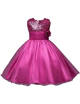 Vestido de niña, RETUROM Vestido de la princesa de la fiesta de cumpleaños de la boda del desfile de la muchacha...