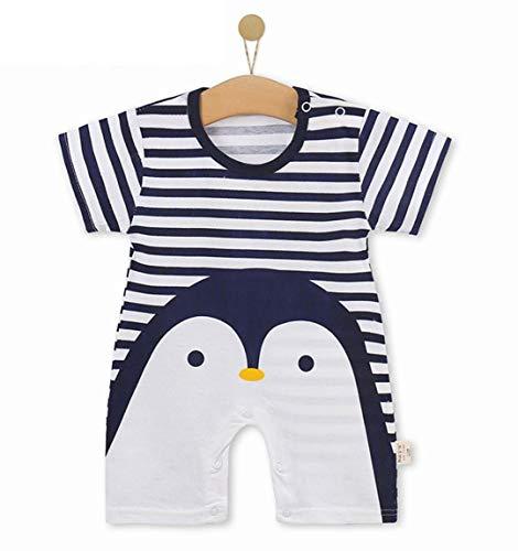 Unisex-Baby Infant Wide Short Sleeve Animal Cartoon Bodysuit Bodys BB@TZZ08WL-0712