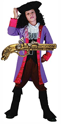 Kostüme Captain Boys Hook (Captain Hook Pirate Boy Kostüm mit Gun Alter)