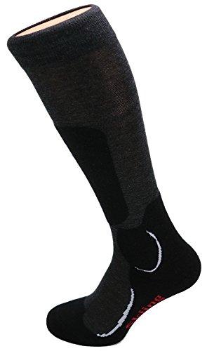 Calze da sci COMFORT PLUS ideale per attività invernali pieno comfort interamente spugna calore confortevole traspiranti termoisolanti Qualità