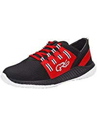 LS Men Trendy Stylish Black & Red Sports Running Shoes New Arrival Best Hot Selling Shoes For Men And Boys ON...