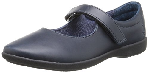 Hush Puppies Lexi Uniform Mary Jane (Toddler/Little Kid/Big Kid) Navy