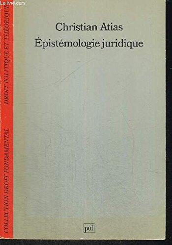 Epistemologie Juridique