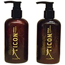 "'Icon India Shampoo + Conditioner 8.5 FL OZ ""Combo Set by vidimear [Beauty] (English Manual)"