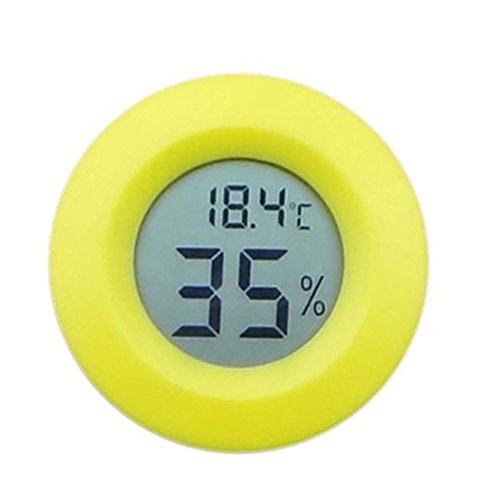Clara Mini LCD DigitalThermometer Kühlschrank Gefriertester Temperatur Feuchtigkeitsmessgerät