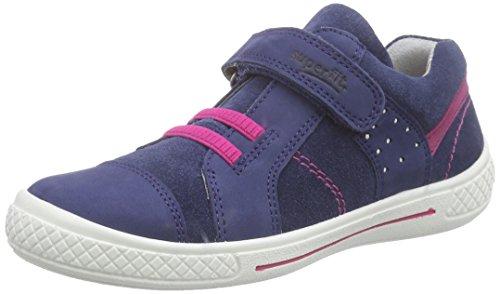 Superfit TENSY 608102 Mädchen Sneakers, Blau (INDIGO KOMBI 88), 31 EU