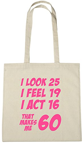 That Makes Me 60 Tote Bag 60th Birthday Gift For Women