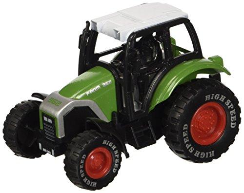 Globo Toys Globo–369644Farbe spidko sterben Traktor in eine Box (12-teilig) (Traktor-boxen)