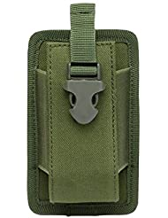 5 Couleurs en Option Gexgune Porte-/étui de Radio Tactique Holster Talkie-walkie Holster Pochette /à molette Ajustable Magazine Ouvert M4 Mag Pouch
