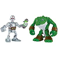 Teenage Mutant Ninja Turtles Pre-Cool Half Shell Heroes Kraang and  Leatherhead Figures 0a49c1fd872