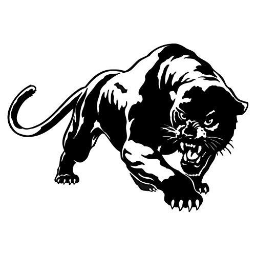 LZKUKZSA Etiqueta Coche Popular Fiery Wild Panther