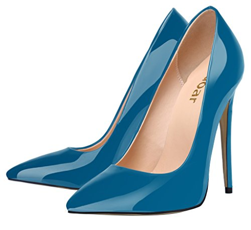 Guoar - Scarpe chiuse Donna Blu (blu scuro)