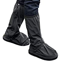 Topker 1 par/S / L XL Negro Impermeables Zapatos M/lloviendo Guardapolvos para Actividades al Aire Libre Deportes