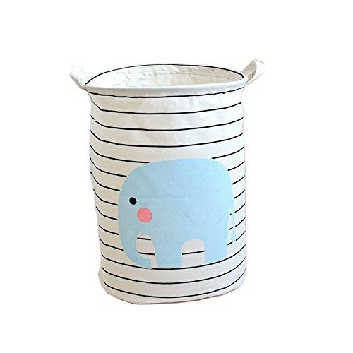 Lqchl Fabric Wäschekorb 30 X 45 Cm Wasserdichte Korb Für Spielzeug Baby Schmutzige Wäsche Körbe Lanudry Picknickkorb Behindern (Schmutzige Wäsche Behindern)