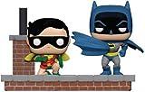 Funko- Pop Vinyl: Comic Moment 80th: Look Batman And Robin (1964), Multicolore, 37256